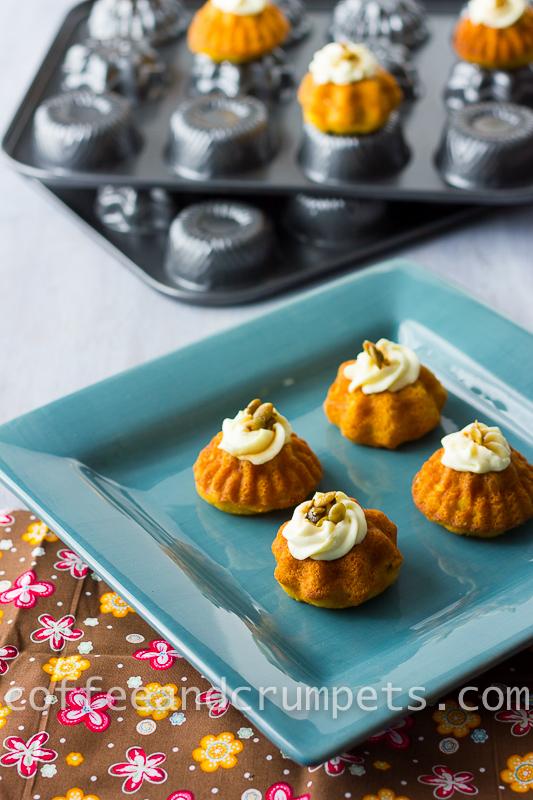 Mini Pumpkin Cakes Site Myrecipes