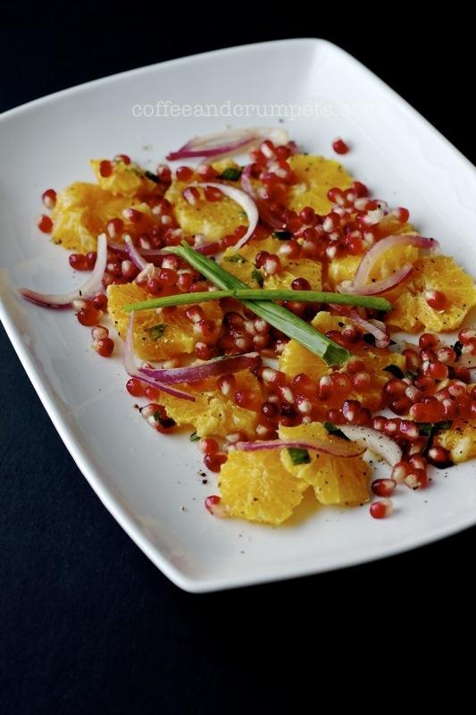 orange and pomegranate salad4
