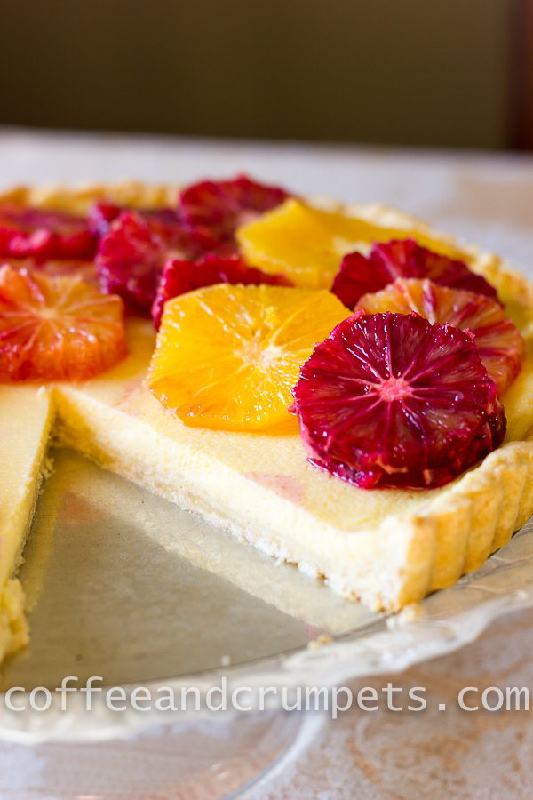 Blood Orange and Ricotta Tart-2