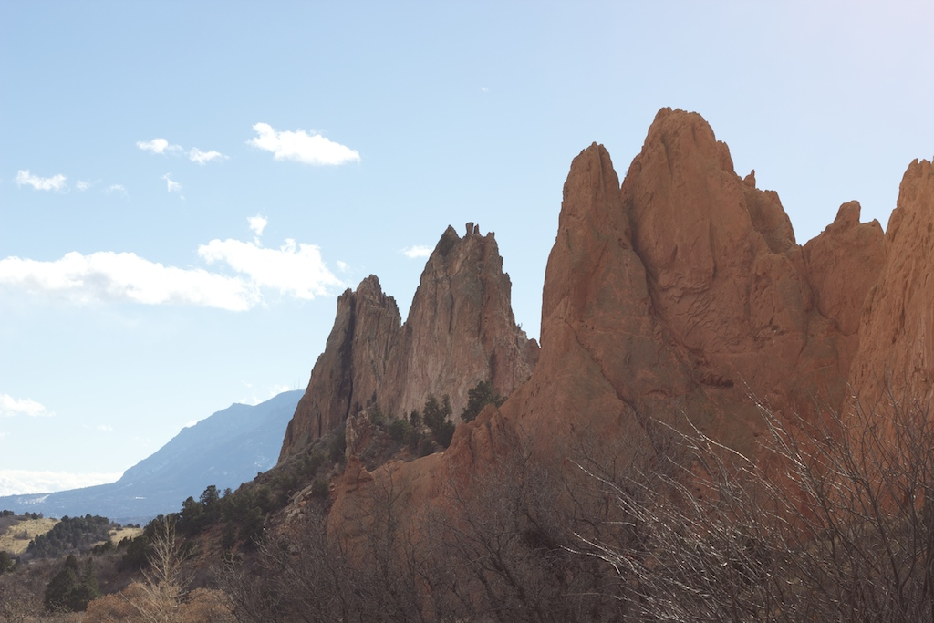 Garden of the Gods rocks