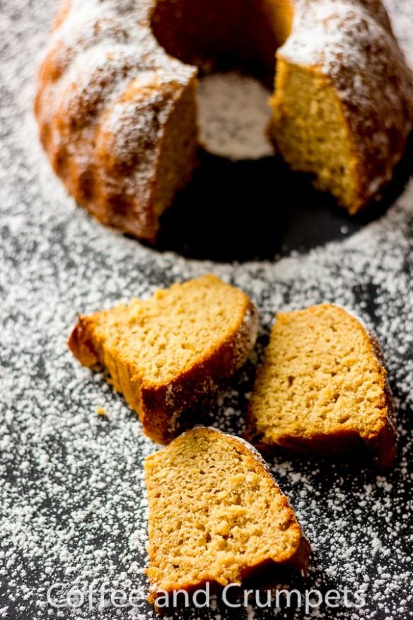 Roasted Parsnip Cake