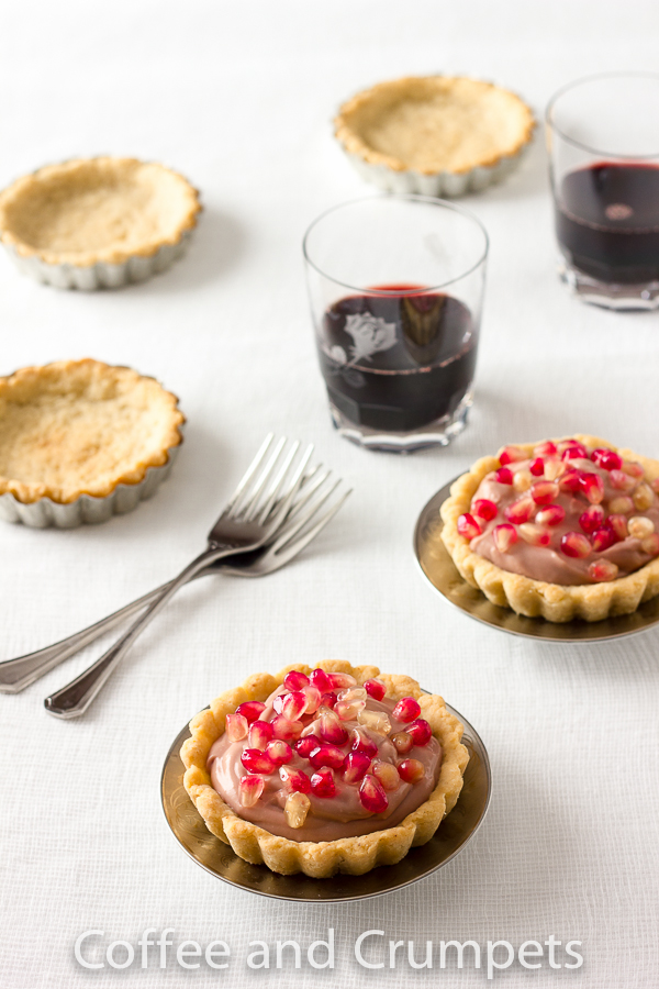Pomegranate Tartlets