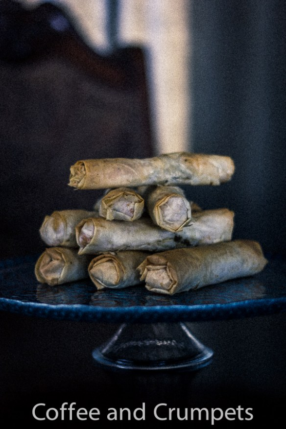 Sweet Potato and Ground Beef Cigars