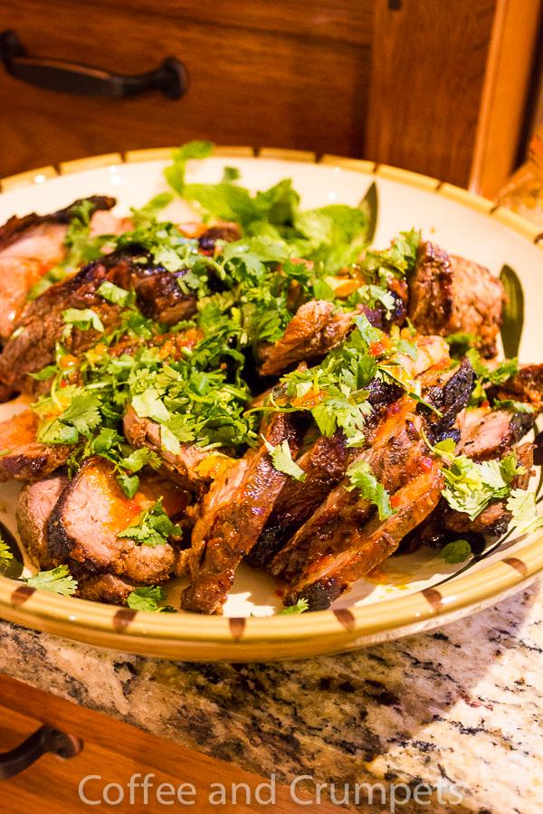 Moroccan Dinner-lamb