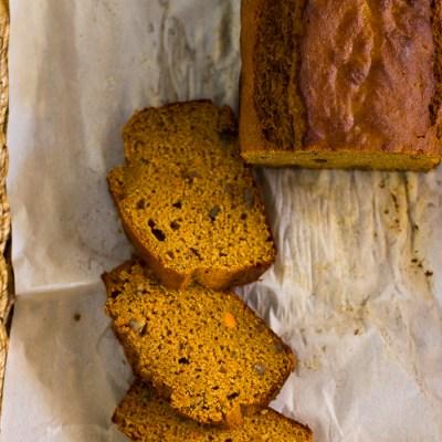 Sweet Potato Tea Bread
