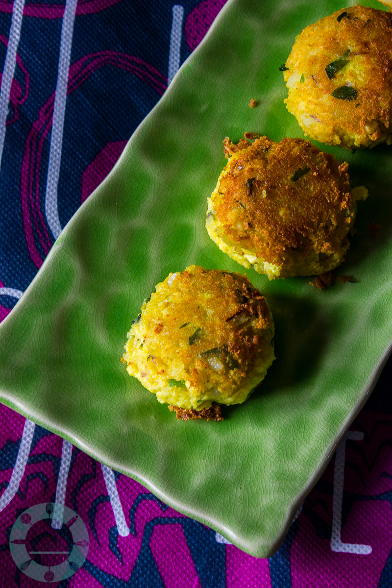 Tofu Potato Patties|Vegetarian Tikka Masala