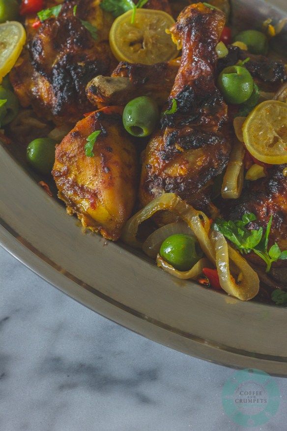 Chicken with Preserved Lemons and Olives