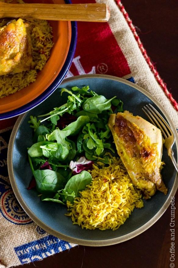 Chicken Kabsa_Saudi Style Chicken and Rice