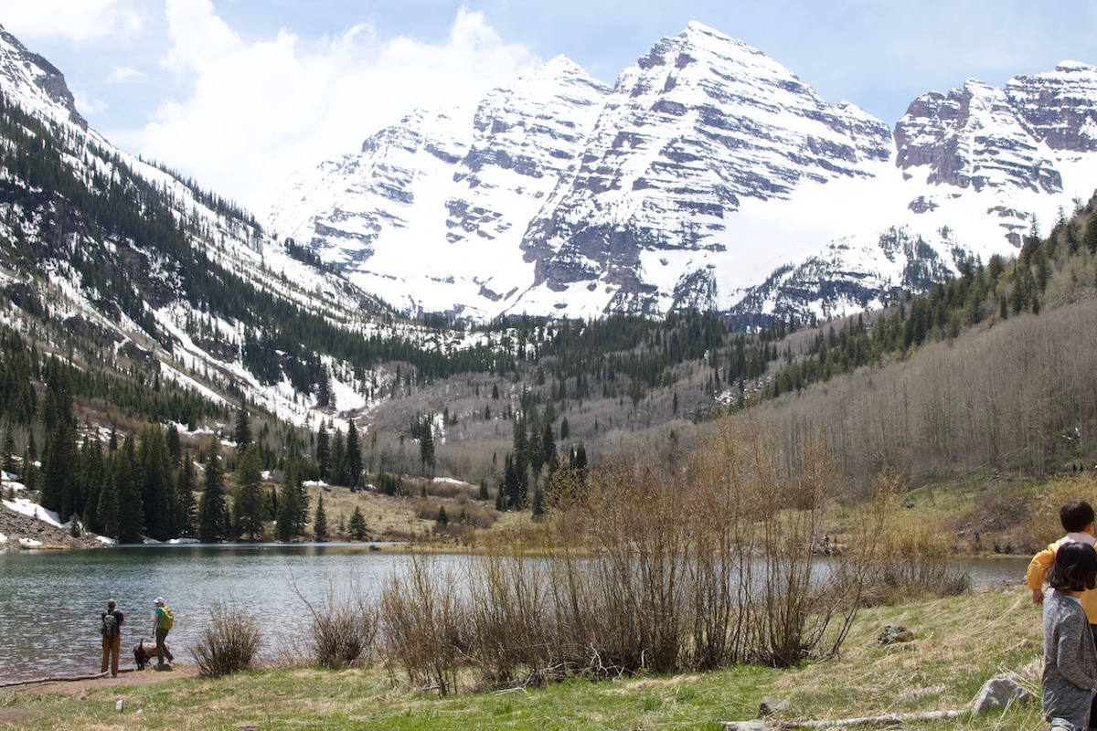 Maroon Lake with Maroon Bells