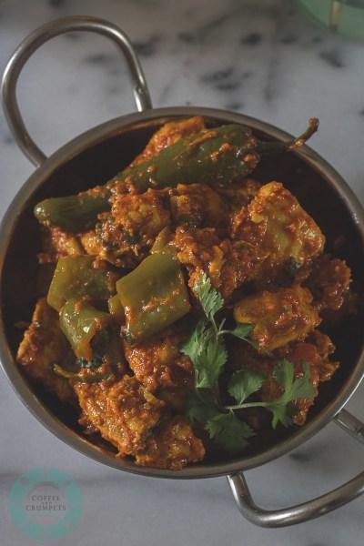 Karahi Chicken II~Stir Fried Chicken with Tomatoes