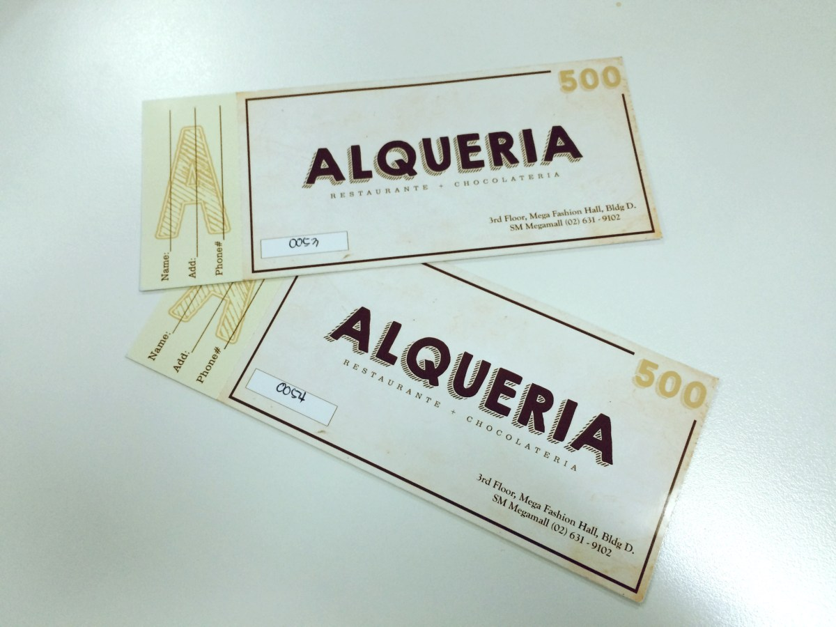 Coffeehan's 5th Anniversary Giveaway - Alqueria
