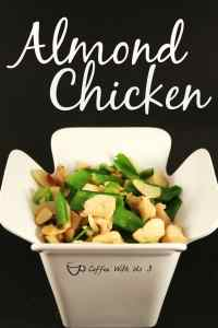 Almond Chicken is a Asian dish that has a great mix of textures and flavors. Such a wonderful real food meal.