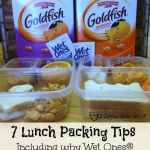 7 School Lunch Packing Tips with Wet Ones® and Goldfish Crackers®