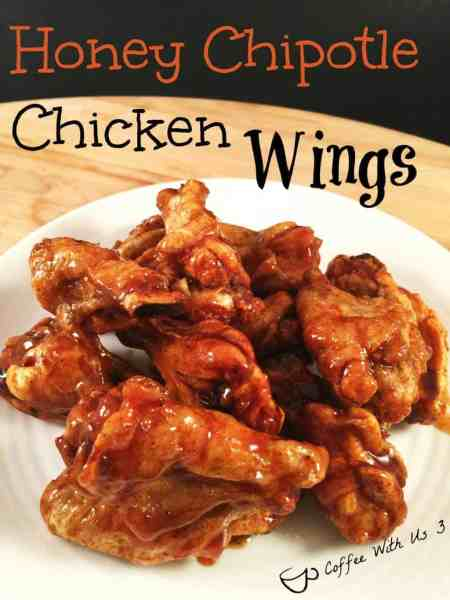 Honey Chipotle Chicken Wings - Coffee With Us 3