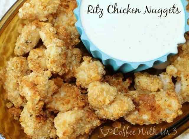 Ritz Chicken Nuggets