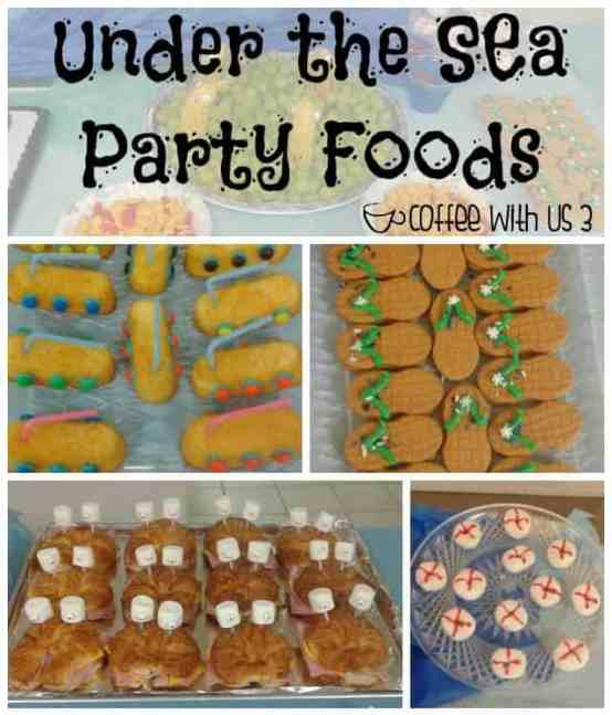 Under the Sea Party Foods