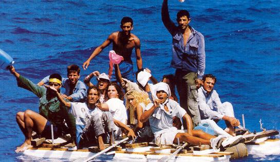 Cuban balseros Source: The George Washington University