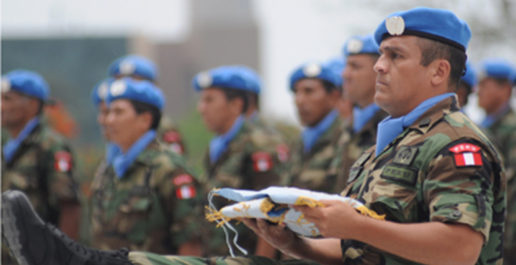 Peruvian UN Peacekeepers, Photo Source: Official Website of the Joint Command of the Peruvian Armed Forces