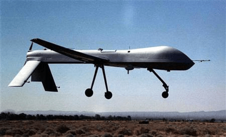 An undated photo of a predator drone. Photo Source: Reuters/File