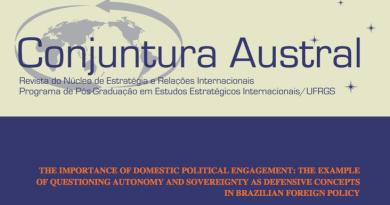 Journal cover by Universidade Federal do Rio Grande do Sul
