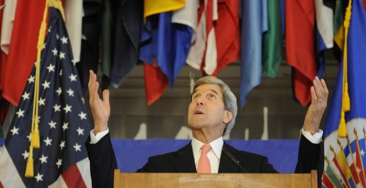 U.S. Secretary of State Speaks at the OAS