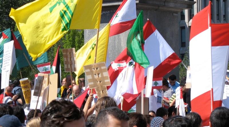 Pro-Lebanese_demonstration_in_Stockholm