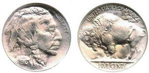 Buffalo (or Indian Head) Nickels