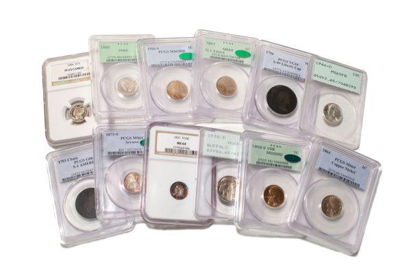U.S. Rare Coins PCGS / NGC Certified