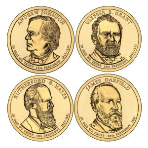 2011P $1 Presidential 4-Coin Set