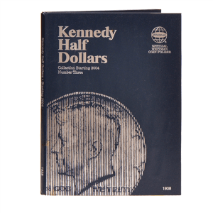 Whitman Kennedy Half Dollars Folder (Starting 2004)