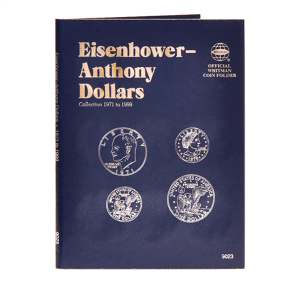 Whitman Eisenhower-Anthony Dollars Folder (1971-1999)
