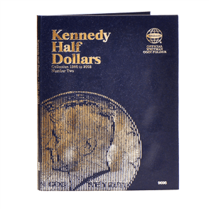Whitman Kennedy Half Dollars Folder (1986-2003)