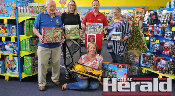 Clubs appeal for gifts for vulnerable families
