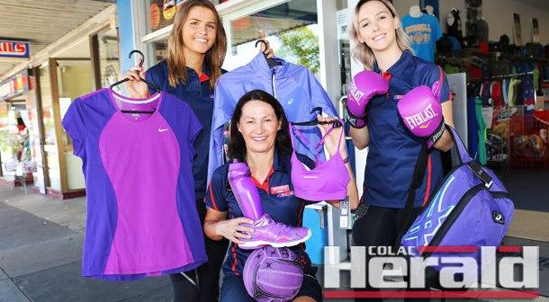 PUMPED: Purple push promotes philanthropic project