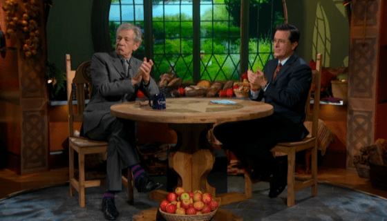 Sir Ian McKellen on The Colbert Report