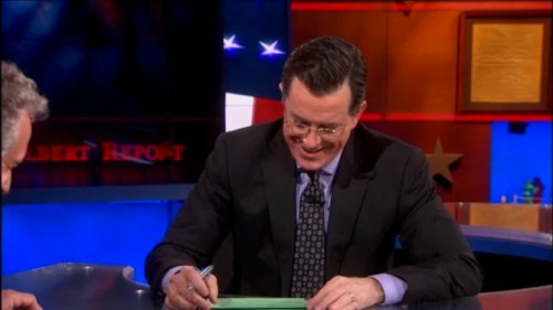 Edward Berenson explains France's tryst in Africa to Stephen Colbert
