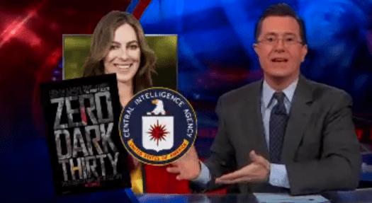 Stephen Colbert on Zero Dark Thirty controversy