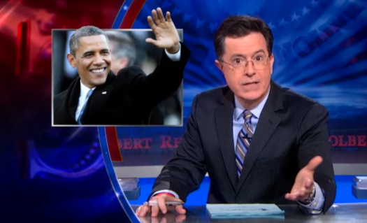 The Colbert Report on Obama Inauguration