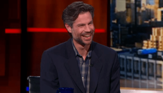 Michael Shellenberger Colbert Report interview