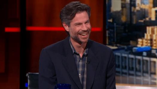 Michael Shellenberger Colbert Report interview
