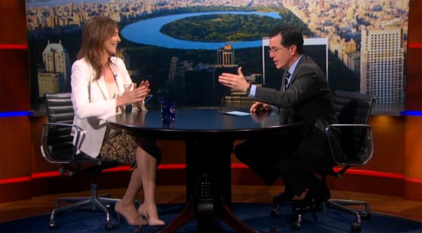 Kathryn Bigelow Colbert Report interview