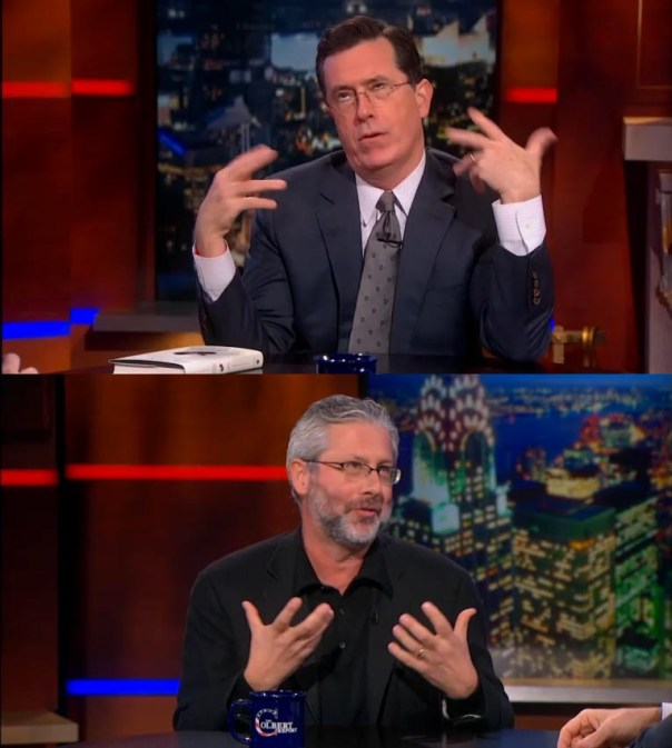 Neil Shubin on The Colbert Report