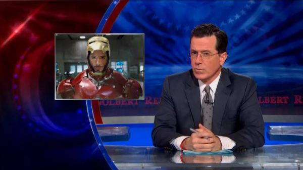 The Colbert Report on Iron Man