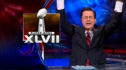 Stephen Colbert on the Superbowl