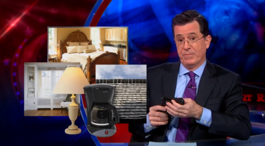 Stephen Colbert on Skeet Shooting