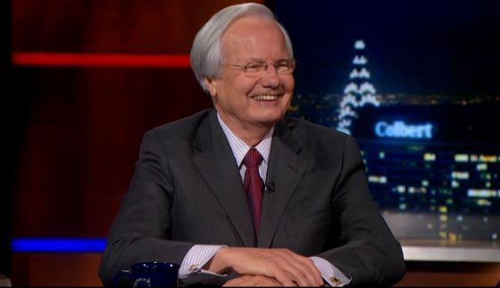Bill Moyers on The Colbert Report
