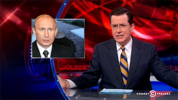 Stephen Colbert on Sochi Problems