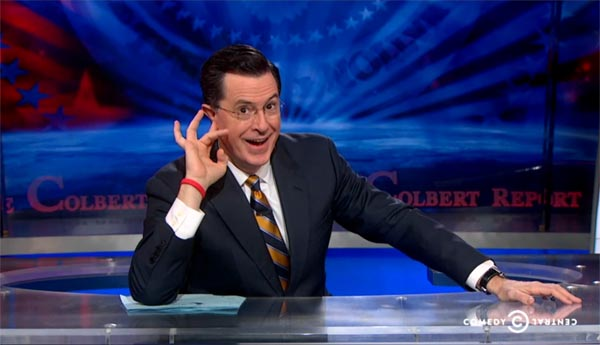 The Colbert Report opening