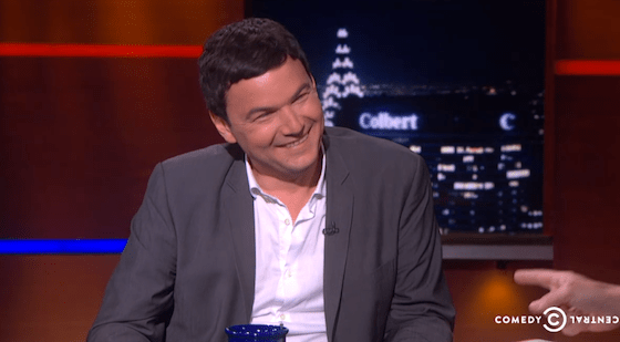Thomas Piketty on The Colbert Report