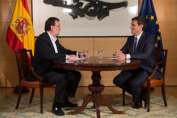 Rajoy y Rivera por pp punto es